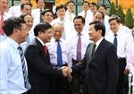 Chủ tịch nước gặp mặt đại biểu Đảng ủy Khối doanh nghiệp Trung ương
