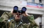 Ukraine: Xe tăng quân ly khai tiến vào Novoazovsk