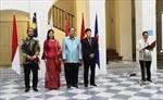Lễ thượng cờ các nước ASEAN tại Praha