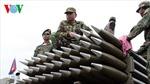 Campuchia diễn tập bắn đạn thật