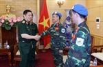 Thẩm tra Nghị quyết về việc Việt Nam tham gia gìn giữ hòa bình