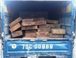 Liên tiếp bắt giữ xe chở gỗ lậu tại Thừa Thiên-Huế