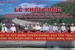 Khởi công đường cao tốc Thái Nguyên-Bắc Kạn