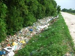 Khó khăn xử lý rác nông thôn ở Hải Dương