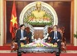 Chủ tịch Quốc hội Nguyễn Sinh Hùng tiếp Đại sứ Trung Quốc