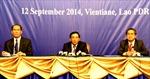 Lào họp báo về kết quả các hội nghị ASEAN