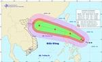 Bão Kalmaegi di chuyển rất nhanh khi vào Biển Đông