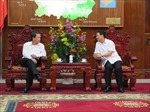 Tổng giám đốc TTXVN làm việc với Thường trực Tỉnh ủy Bắc Ninh