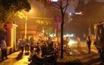 Tổng lãnh sự quán Indonesia hoạt động bình thường sau hỏa hoạn