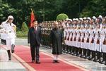 Chủ tịch nước Trương Tấn Sang hội đàm với Tổng thống Ấn Độ