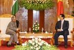 Thủ tướng Nguyễn Tấn Dũng hội kiến Tổng thống Ấn Độ