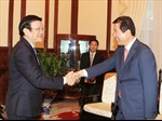 Chủ tịch nước tiếp Chủ tịch Liên đoàn HTX Nông nghiệp Hàn Quốc