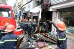 Khắc phục hậu quả vụ cháy thảm khốc tại TP.HCM