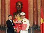 Trao quyết định thăng hàm Thượng tướng cho đồng chí Tô Lâm