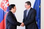 Đoàn đại biểu cấp cao Quốc hội Việt Nam thăm Slovakia