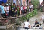 Thái Nguyên: Mưa lớn, một phụ nữ bị cuốn trôi