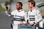 Lewis Hamilton và Nico Rosberg tranh chấp ngôi vương
