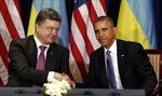 Tổng thống Mỹ sẽ tiếp ông Poroshenko tại Nhà Trắng