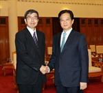 Thủ tướng Nguyễn Tấn Dũng tiếp Chủ tịch Ngân hàng Phát triển Châu Á