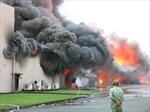 Suốt đêm dập cháy hoá chất kinh hoàng tại Bình Dương