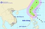 Xuất hiện bão ở Đông Bắc Biển Đông