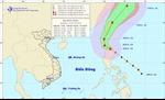 Tin về cơn bão Fung-Wong