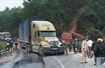Tai nạn chết người trên đèo Bảo Lộc làm ách tắc giao thông