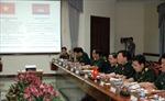 Đoàn cán bộ cấp cao Quân đội làm việc tại Campuchia