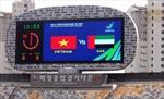 Hwangseong - 'sân khấu' của CĐV Olympic Việt Nam