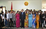 Gặp gỡ kiều bào về dự Đại hội Mặt trận Tổ quốc Việt Nam