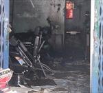 Cháy tiệm cắt tóc, 1 người chết