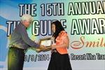 Fortuna Hà Nội nhận giải thưởng The Guide Award 2013-2014