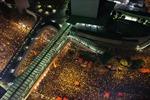 Biểu tình Hong Kong quay từ máy bay không người lái