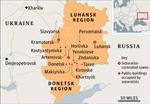 Ukraine điều chỉnh địa giới một số huyện của Lugansk