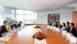 Thủ tướng Nguyễn Tấn Dũng hội đàm với Thủ tướng Đức