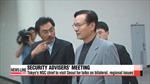 Quan chức an ninh hàng đầu Nhật Bản đến Hàn Quốc