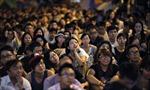 Người biểu tình Hong Kong tuần hành đến nhà Trưởng Đặc khu