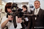 Ngắm thiết bị quân sự mới lạ tại triển lãm ở Nga