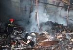 'Bà hỏa' thiêu rụi gần 1.000 m2 kho phế liệu