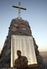 Không còn đài tưởng niệm binh sĩ Anh hy sinh ở Afghanistan