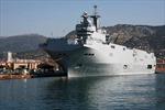 Nga nêu thời hạn Pháp bàn giao tàu chiến lớp Mistral