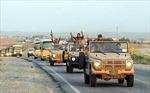 Nhóm chiến binh người Kurd-Iraq đầu tiên tiến vào Kobane
