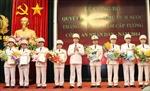 Trao Quyết định thăng cấp bậc hàm cấp Tướng Công an nhân dân năm 2014