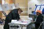 Hình ảnh bầu cử quốc hội giữa kỳ Mỹ tại New York