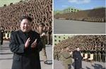 Ông Kim Jong Un xuất hiện không cần chống gậy