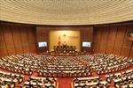 Thông cáo số 13, Kỳ họp thứ 8, Quốc hội khóa XIII