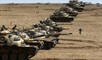 Thổ Nhĩ Kỳ triển khai vũ khí hạng nặng tới biên giới Syria