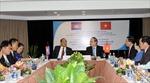 Đồng chí Nguyễn Thiện Nhân tiếp Đoàn Mặt trận Campuchia