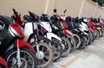 Triệt phá đường dây trộm cắp xe máy