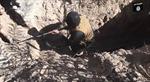 IS khoe đường hầm 'miễn dịch' không kích của Mỹ